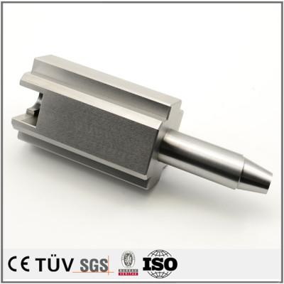 高精密模具配件加工,钢材质,表面白色氧化处理