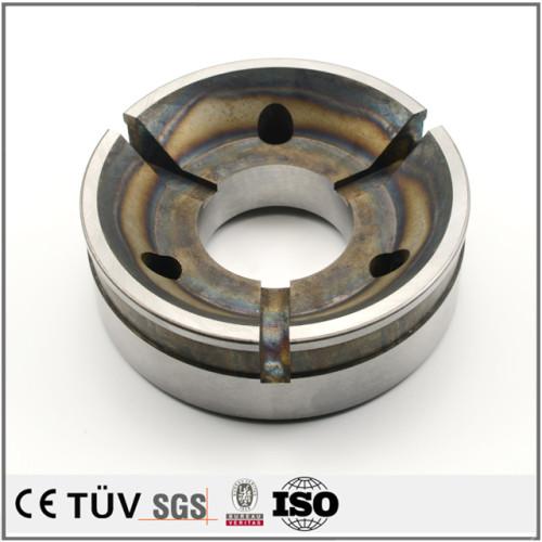 真空焼き入、サブゼロ処理、高周波焼き入れ、など各種熱処理、研磨仕上げ