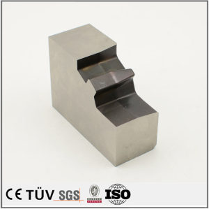 S45C材质,铣床磨床一体加工,盐浴氮化处理等高精密模具配件