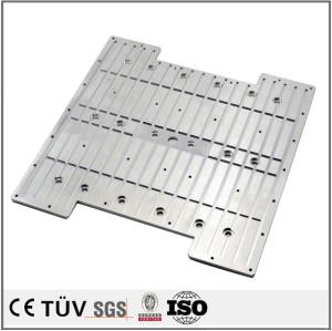 铝合金高精密机械零部件,铣床加工,白色氧化处理等高品质设备