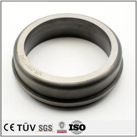 S45C材质,高周波淬火回火圆环精密加工,医疗设备用