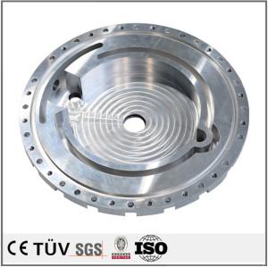 多种类圆盘机械加工,铝材质,5轴联动加工品,抛光研磨高精密零件