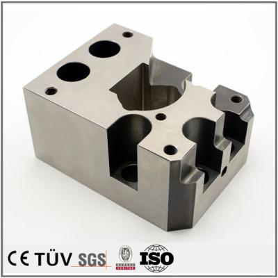 合金钢材质,用于探测仪器用高精密金属机械零件