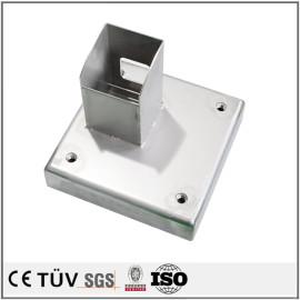 SS400铁材质,高精密焊接部品,抛光研磨无焊肉,高品质设备