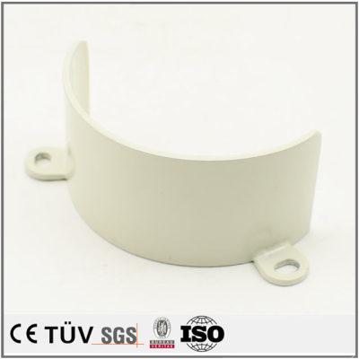 弯曲加工,钣金精密加工,白色氧化处理,高精密设备