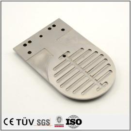 钢板慢丝精密加工,无电解镀镍处理,调质热处理