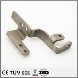 钢铝材质钣金零部件,白色氧化处理,弯曲加工。来图制作