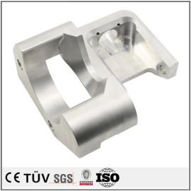 铝制弯曲制品精密加工,车床磨床加工,白色氧化处理,高精密机械设备