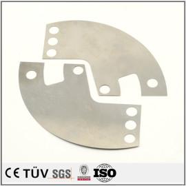 钢材质,数控车加工,加工中心制作,白色氧化处理等工艺部品