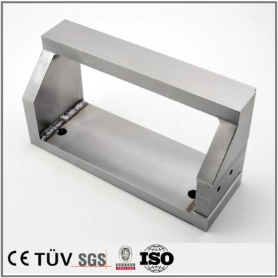 SS400材质,框架精密加工,工业用金属零件