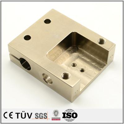专业无电解镀镍金属零件,包装机用,skd11材质,高精密设备