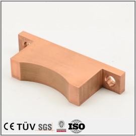 紫铜材质金属部品,特殊工艺特殊加工,自动装置用