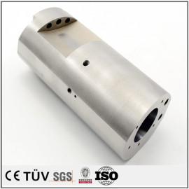 碳钢材质,主轴精密加工,调质热处理,闪镀鉻等工艺精密部品