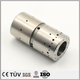 钢制钢管材质,白色氧化处理,高精密抛光研磨等工艺制品