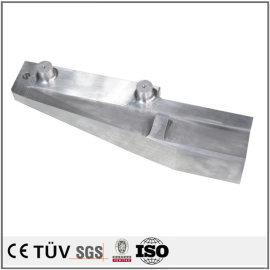 铝制高精密机械零件,抛光研磨,白色阳极氧化等工艺制品