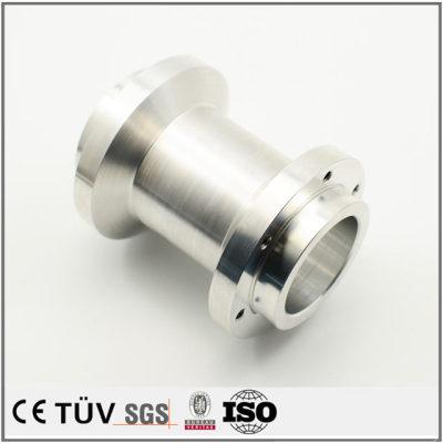 铝管机加工零件,高精密抛光研磨,探测设备用
