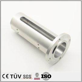 铝金属零件加工,白色氧化处理 ,高精密抛光研磨,公差严谨,高精密设备