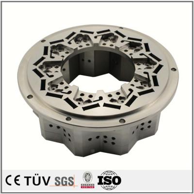 SKD11材质,花纹网状金属加工制品,自动设置用高精密部品