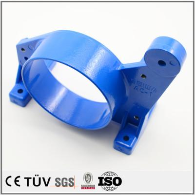 精密铸造件加工,蓝色涂层防腐耐用加工,加工中心制品