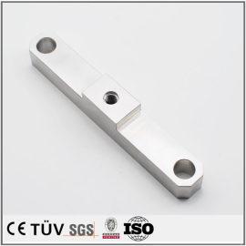 大连鸿升机械加工,高精密铝材质部品,白色阳极氧化处理