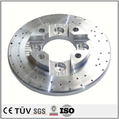 合金铝材质,车铣复合5轴联动精密加工,闪镀鉻表面处理等工艺制品