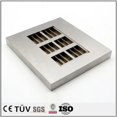 建筑行业用金属机械零部件,大连鸿升工厂提供,单件到批量任意生产