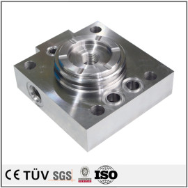 合金钢材质,车铣复合5轴联动加工,无电解镀镍处理高精密部品