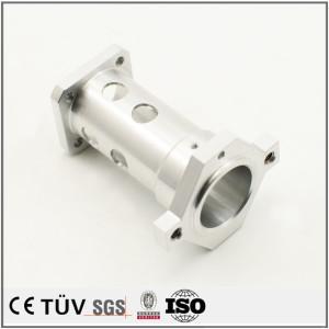 大连工厂提供,铝材质金属零件,车铣复合机加工,白色氧化处理等工艺