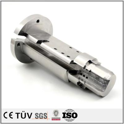 包装机机械零部件加工,钢材质,闪镀鉻表面处理等工艺制品