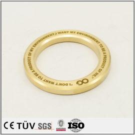 黄铜制品精密加工,精密抛光研磨,刻印等高精密设备
