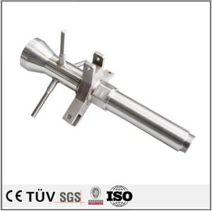 SS400材质,车床加工,激光研磨抛光,焊接部品