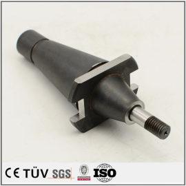 碳钢材质,黑染表面处理,建筑行业用机械零部件