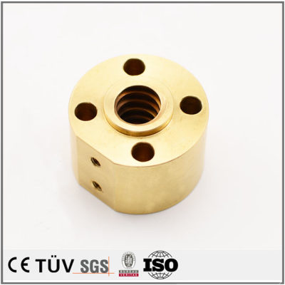 黄铜材质,钻孔沉孔精密加工,激光切割研磨等工艺制品