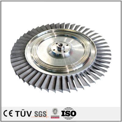 P20材质,高精密制品,车铣复合5轴联动加工,调质热处理等工艺制品
