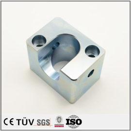 高精密镀蓝白锌表面精加工部品,单品到批量生产