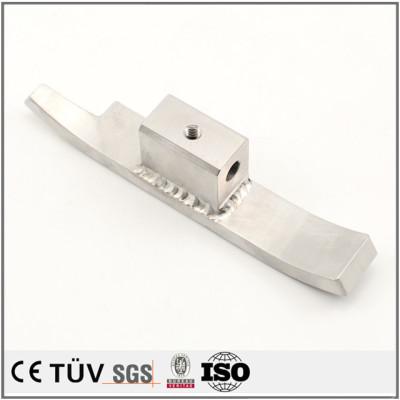 S45C材质,焊接精密部品,镜面抛光等工艺制品,高要求外观部品