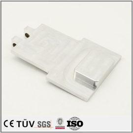 铝制精密部品,大连工厂生产,白色阳极氧化处理,高精密设备