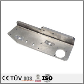 焊接加工件,s45c材质,无电解镀镍处理,镜面抛光研磨等工艺