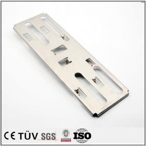 SS400材质,加工中心加工制品,闪镀鉻表面处理等高精密部品