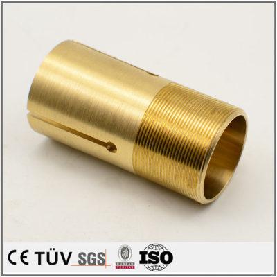 黄铜材质,调质热处理,抛光外观部品,医疗设备用