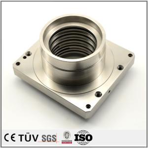 碳钢材质,螺纹精密加工,无电解镀镍表面处理,包装机用机械零件