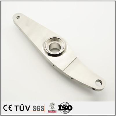 焊接铝材质,白色氧化处理,高精密外观部品,医疗设备用