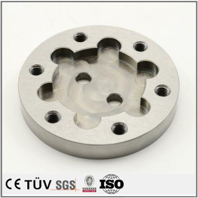 钢材质,调质热处理,钻孔沉孔加工,精美部品加工