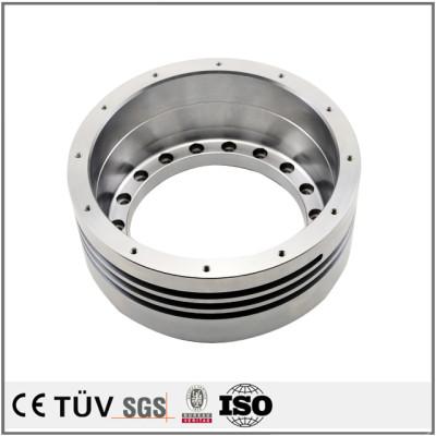 S45C材质,齿加工,钻孔沉孔加工,闪镀鉻表面处理