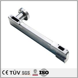 焊接部品,S45C材质,闪镀鉻表面处理,调质热处理等多工艺部品