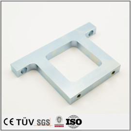 精密镀蓝白锌表面处理,铝材质,医疗设备用