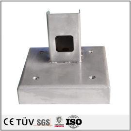 大型焊接部品,铁材质,调质热处理,磨床研磨等高精密设备