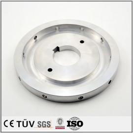 铝盘精密加工,精密键槽车床加工,白色阳极氧化表面处理,高精密设备