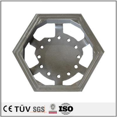 特殊工业用焊接部品,SS400材质,大连生产高精密设备