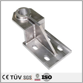 S45C材质,高精密焊接钎焊机械零部件,无电解镀镍表面处理,建筑行业用